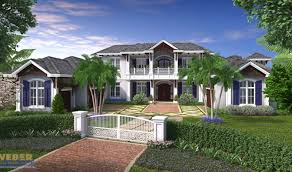 california style house plan weber design group naples fl