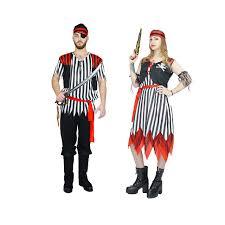 Gangster Woman Halloween Costumes Aliexpress Buy 2017 Halloween Costumes Women Men Pirates