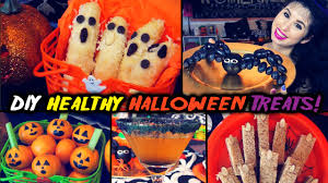 Halloween Treats And Snacks Diy Healthy Halloween Treats And Snack Ideas Youtube