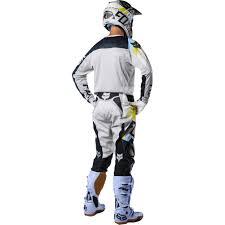 fox motocross trousers 2018 fox racing 360 draftr gear kit light grey sixstar racing