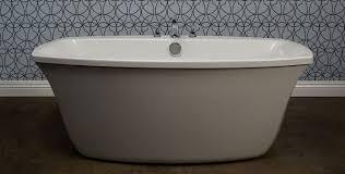 freestanding bathtub oval acrylic hydrotherapy primo