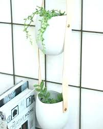 modern hanging planters hanging wall planters indoor hanging wall garden hanging wall