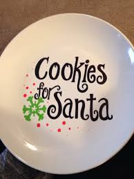 handmade cookies for santa plate diy christmas at kingsbury