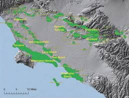 Greater Los Angeles Map by Oil Spill History And Ecotoxicology Air Quality U0026 Urban Oil Fields