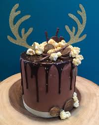glitzy reindeer drip cake class u2013 sugar buttons