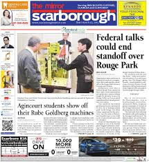 Danforth Roofing Supplies by March 12 South By The Scarborough Mirror Issuu