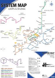 Dart Train Map Shuttle Ridgefield Katonah Hartransit