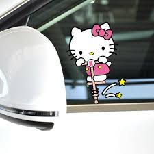 funny kitty car accessories bouncing motion body