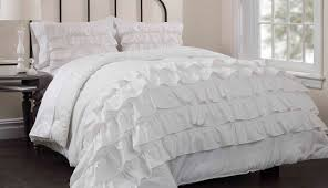 bedding set white ruffle bedding stunning shabby chic bedding