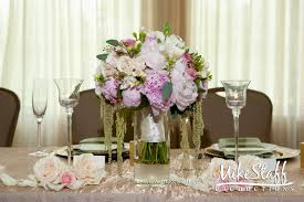 wedding reception flower arrangements wedding party decoration