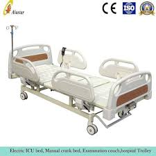 Hospital Couch Bed Hospital Electric With Crank Bed 3 Functions Als Me02