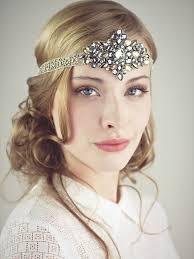 beaded headband diamonds and dust flapper beaded headband accessories deanna