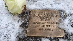 memorial stepping stones big meaning in a small holocaust memorial culture arts