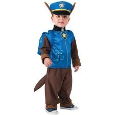 18 Month Boy Halloween Costumes Paw Patrol Chase Child Halloween Costume Walmart