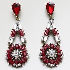golden earrings earrings and white stones