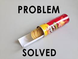 Pringles Meme - pringles and method to get without problem problem solved know