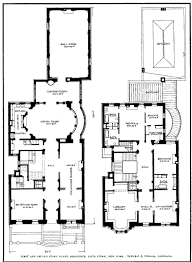 Gilded Age Mansions Floor Plans Louis Stern Residence 993 Fifth Ave Nyc Borrowed From Www
