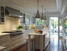 long kitchen island ideas long kitchen transitional kitchen deborah wecselman design