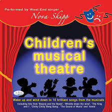 children s musical theatre up and wind to 16 songs from