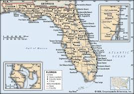 florida towns map map of florida showing cities and towns deboomfotografie