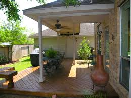 Great Patios Decor Covered Patio With Vaulted Ceiling Ideas And Wooden Deck
