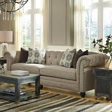 Ashley Sofa Set by Ashley Alia Tufted Roll Back Sofa Furniture And Mattress Outlet