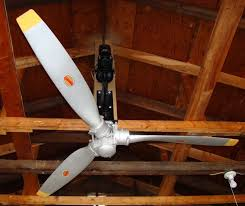 diy belt driven ceiling fans airplane propeller ceiling fan