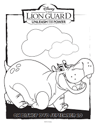 disney lion guard free coloring pages mommy mafia
