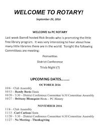 thanksgiving date 2016 club u0027s current bulletins putnam county rotary club