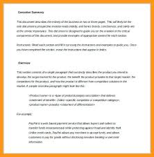 executive summary resume executive summary resume example