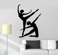 Modern Wall Stickers For Living Room Compare Prices On Dancer Silhouette Wall Decals Online Shopping
