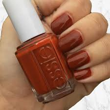bps trend alert burnt orange nail polish is the hottest new color