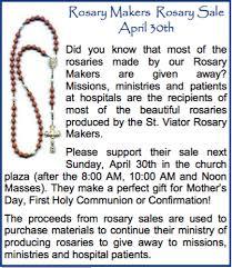 rosary makers rosary makers rosary sale st viator