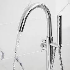 crosswater design freestanding bath shower mixer uk bathrooms