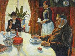 the dining room opus 152 paul signac paintings