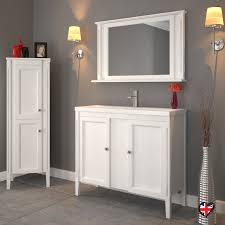 Solid Oak Bathroom Vanity Unit England 1000 Solid White Oak 2 Door Bathroom Vanity Unit And Basin