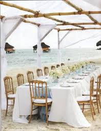 blue and white table ls blue beach wedding how to plan a wedding app who sits where
