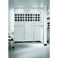 3 Panel Shower Doors Discobath Maax Plus 3 Panel 1 4 Sliding 58 1 2 X 66
