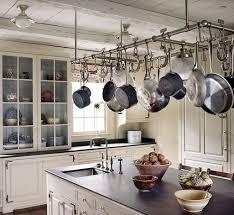 kitchen island hanging pot racks haute obsession pot racks gibbons style pots and pan hangers