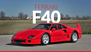 ferrari supercar why eric clapton u0027s classic ferrari f40 is a supercar worth owning