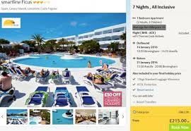 all inclusive lanzarote from 208pp incl flights 7 nights hotel
