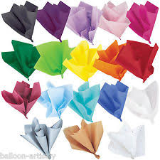 gift wrap with tissue paper multi colour gift wrapping tissue paper ebay