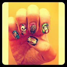 nail art ed hardy theme touchtalent for everything creative