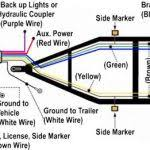 4 wire trailer wiring diagram interesting trailer connector