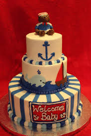 Nautical Baby Shower Centerpieces by 26 Best Nautical Baby Shower Images On Pinterest Nautical Cake