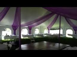 wedding tents beautiful wedding tent draped in color