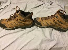 merrell womens boots size 12 merrell s moab mid waterproof hiking boot size 12 sold