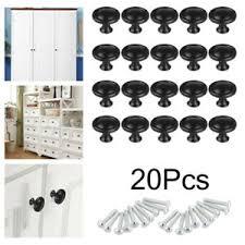 kitchen cupboard handles in black details about 20pcs cabinet knobs hardware bedroom kitchen drawer cupboard handle pulls black