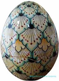 decorative eggs that open italian ceramic decorative egg italian ceramics