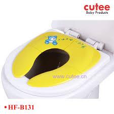 siege toilette bebe bébé pliage petit pot de siège portable siège de toilette noyer de